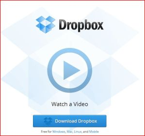 I could be a Dropbox salesperson.