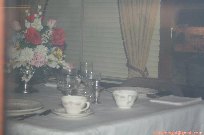 RR MuseumR Dining car