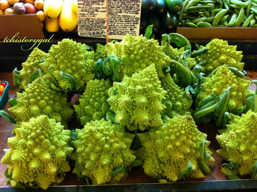 Sunday Stills Green Romanesco broccoli