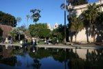 San Diego History Girls Balboa Park, pond, reflection