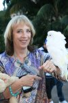Marsha, Manny, white bird, parrot