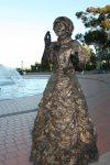 San Diego History Girls, golden girl, Balboa Park, expressive