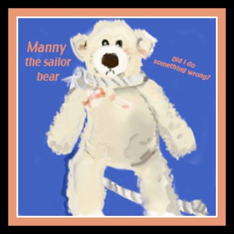 Manny the Sailor Bear