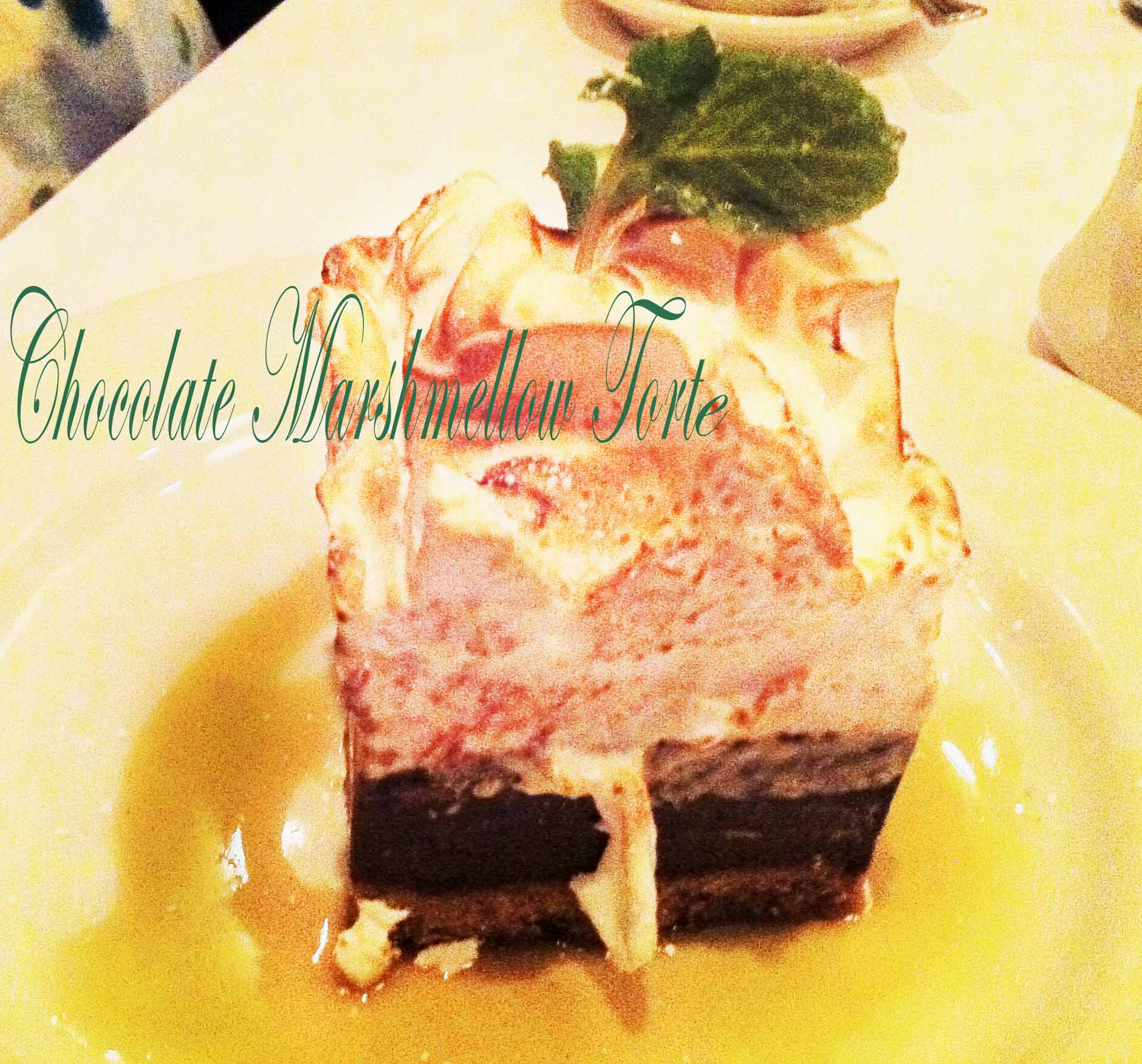Chocolate Marshmallow Torte