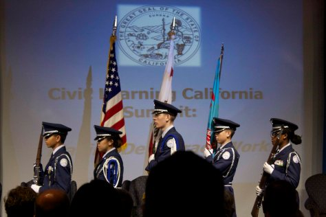 McClatchy High School Color Guard
