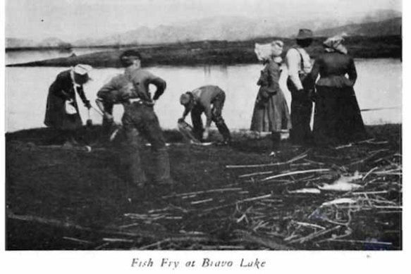 Fish Fry at Bravo Lake