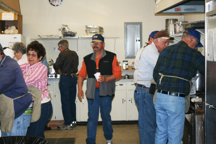 Central Valley Kiwanis Clubs join together to work the World Ag Expo.