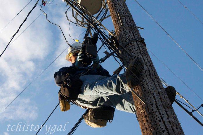 ATT telephone lineman