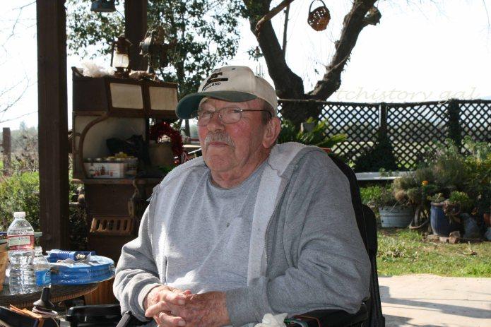 Roy Lee Davis, retired farmer, back-pack guide from age 13.