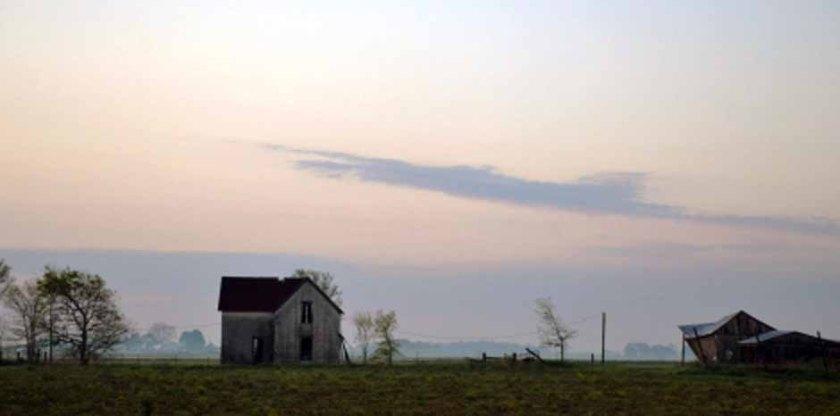 Flat lander's house