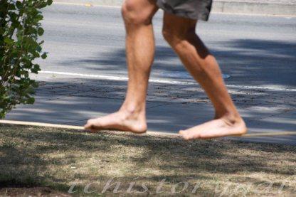 Roman toes, ah ha, no wonder I can't do that!