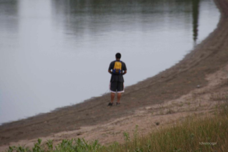 I'm going to catch a fish here any minute.  Get the barby ready!