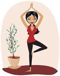 standing yoga style