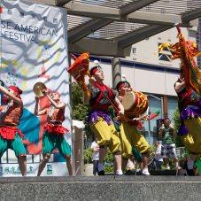 2013 Thai Dancers in San Francisco street performance