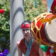 2013 Thai Dancers in San Francisco drummer