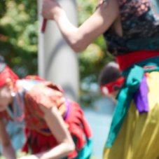 2013 Thai Dancers in San Francisco blurry