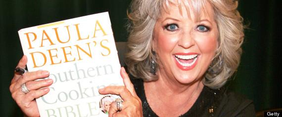 "Paula Deen Signs Copies Of Her New Book ""Paula Deen's Southern Cooking Bible"""