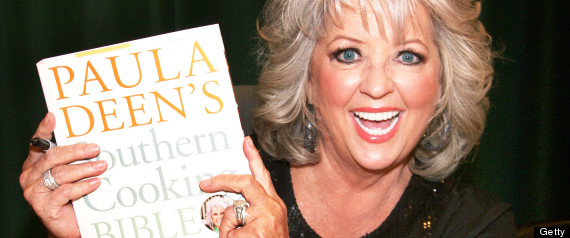 "Paula Deen Signs Copies Of Her New Book ""Paula Deen's Southern Cooking Bible"""