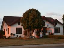 golden hour house in Woodlake, California