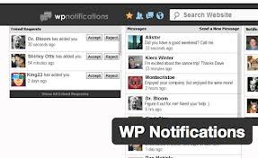 WP notifications