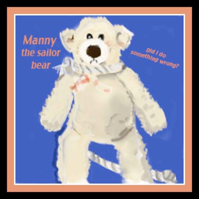 Manny the Sailor Bear