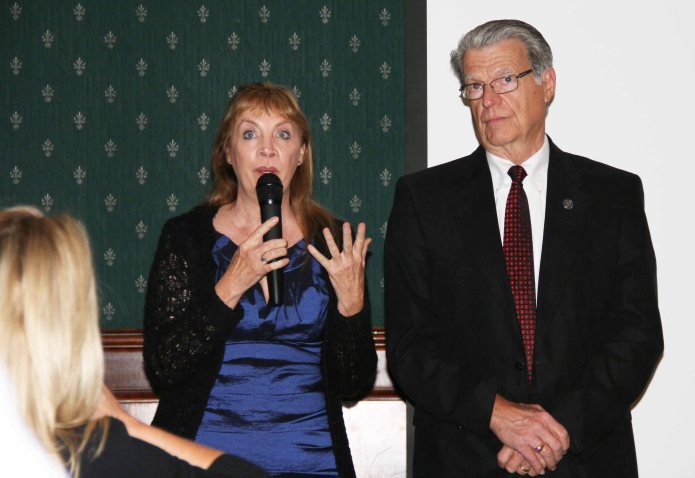I had the privilege of honoring Tulare County Superintendent of Schools, Jim Vidak, as Administrator of the Year.