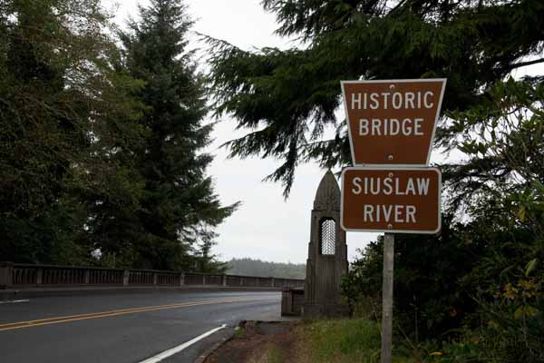 Accidental Vacation 106  nearing Florence Historic Bridge