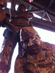 Statue on the Boardwalk