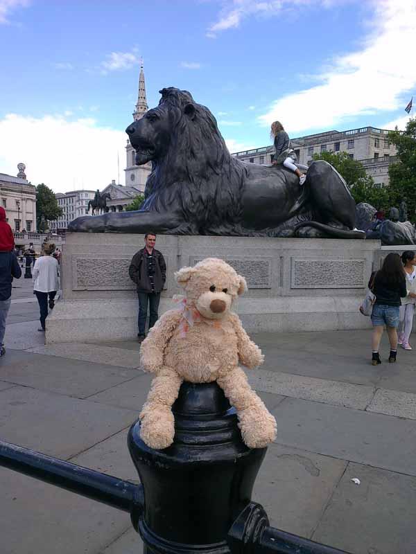 trafalgar sqare lion resiz