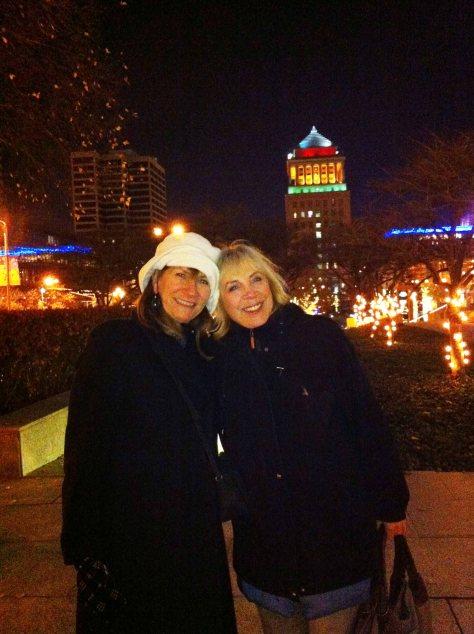 Cheryl and Marsha