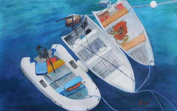 This is my personal favorite. I love the colors of the boats dancing on the water.