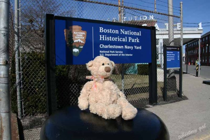Manny visits the USS Constitution