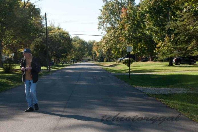 Randy street walking
