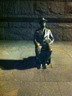 FDR Memorial @ night