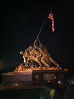 Iwo Jima Memorial, Washington