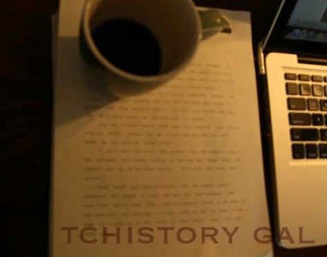 My lost manuscript