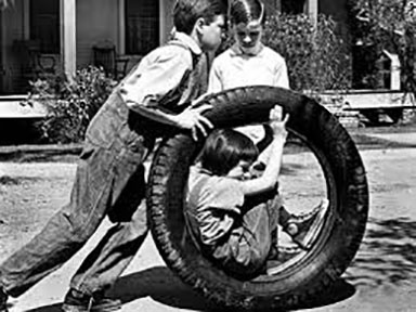 Scout in tire