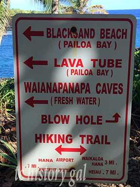 Hawaii 2016 Hana Lava