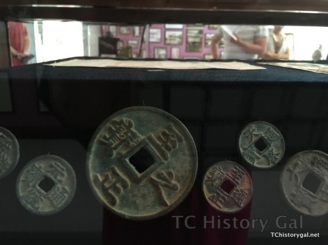 Hawaii 2016 Taoist Temple round Chinese coins