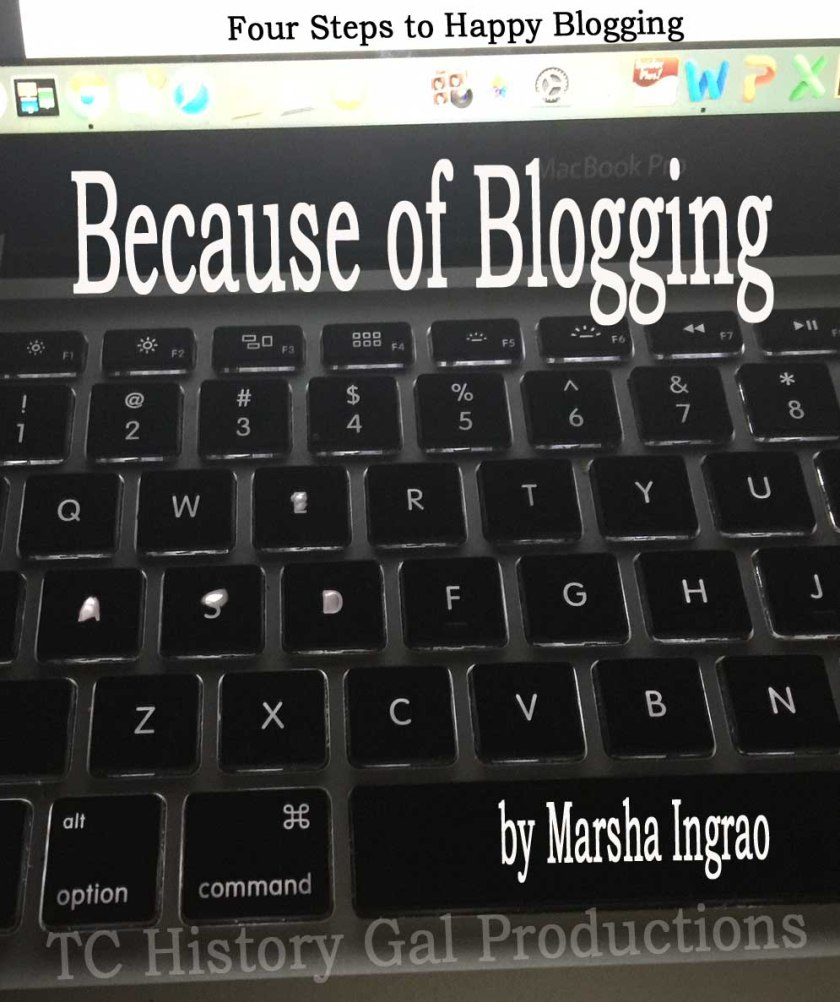 Because of Blogging Cover