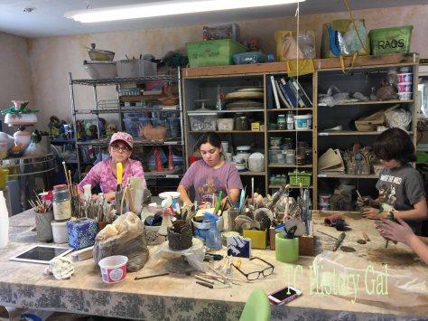Art Tour - Clay studio
