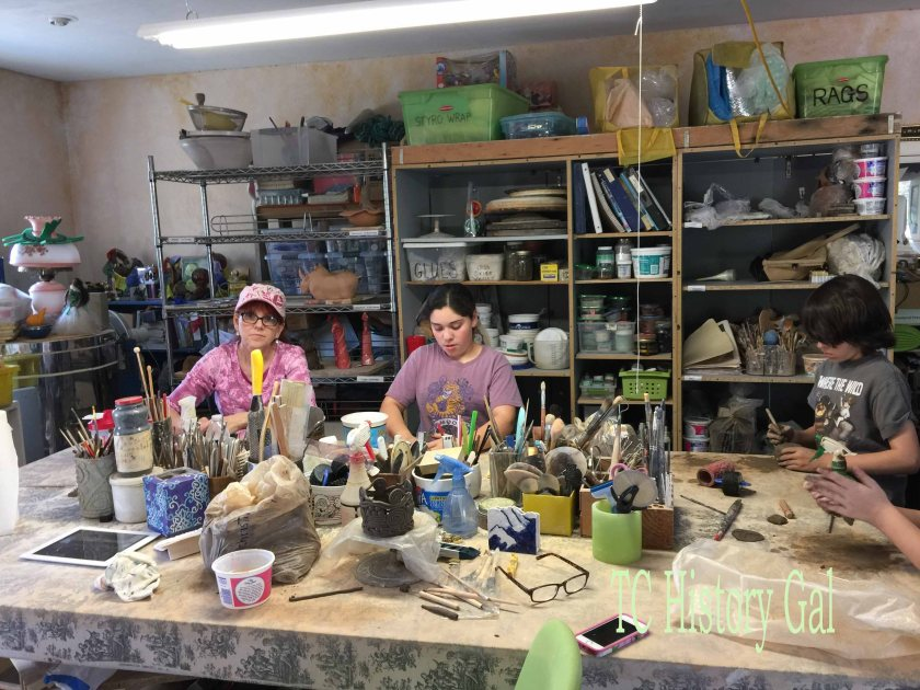 Art Tour - Clay studio