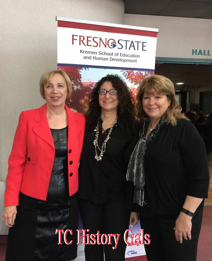 Three generations of History Consultants for Tulare County Office of Education