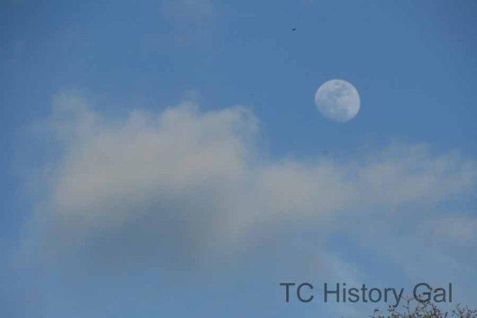 Misplaced moon