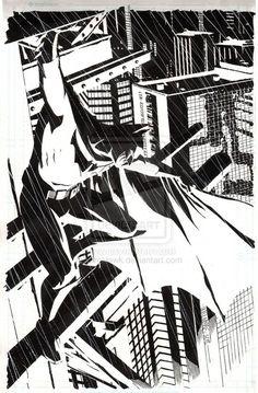 Dave William's work on Batman.