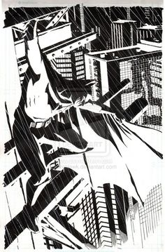 Dave William's work on Batman.