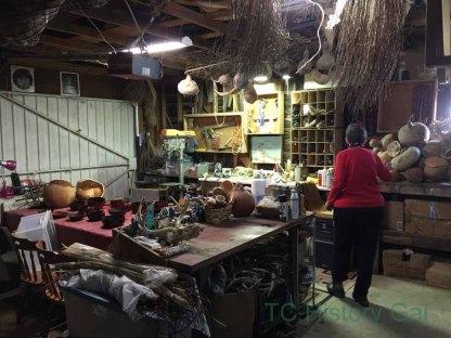 Toni Best's studio