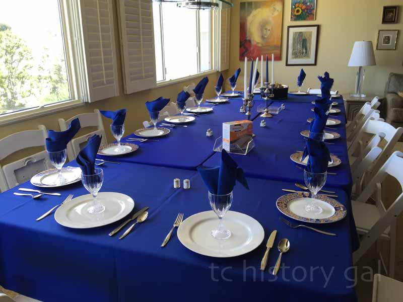 Seder at Elaine's 2016
