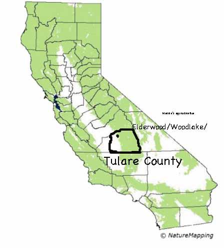 Mountain Lion Habitat in CA
