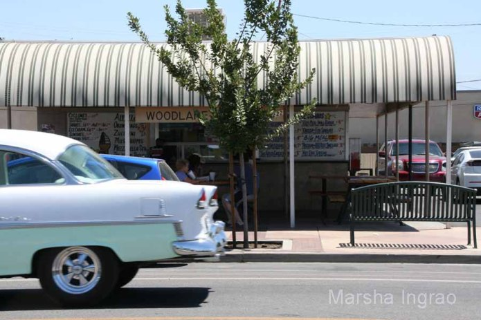 My camera would not click fast enough to catch the 55 Chevy.